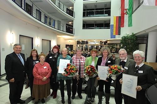 Photo of Freiwilligen-Förderpreis 2014: Kreis würdigt ehrenamtliche Verdienste