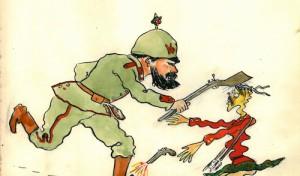 """""""Emotion und Expression II – Schüler malen den Krieg 1915 und heute"""""""