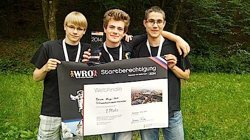 Bild von Wiehler Team qualifiziert für die Olympischen Spiele der Roboter in Sotschi
