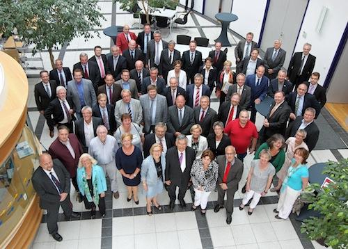 Photo of 22 Neulinge im Kreistag