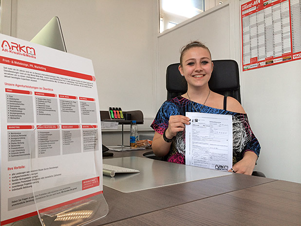 Photo of Hellas! Despina Tagkalidou aus Lüdenscheid startet ihre Karriere bei ARKM