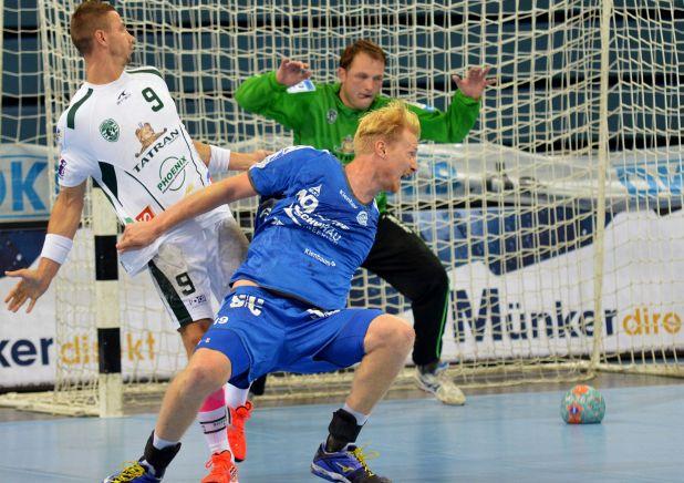 Joakim Larsson hatte einen schweren Stand am Kreis / Text und Fotos : Uwe Schlegelmilch