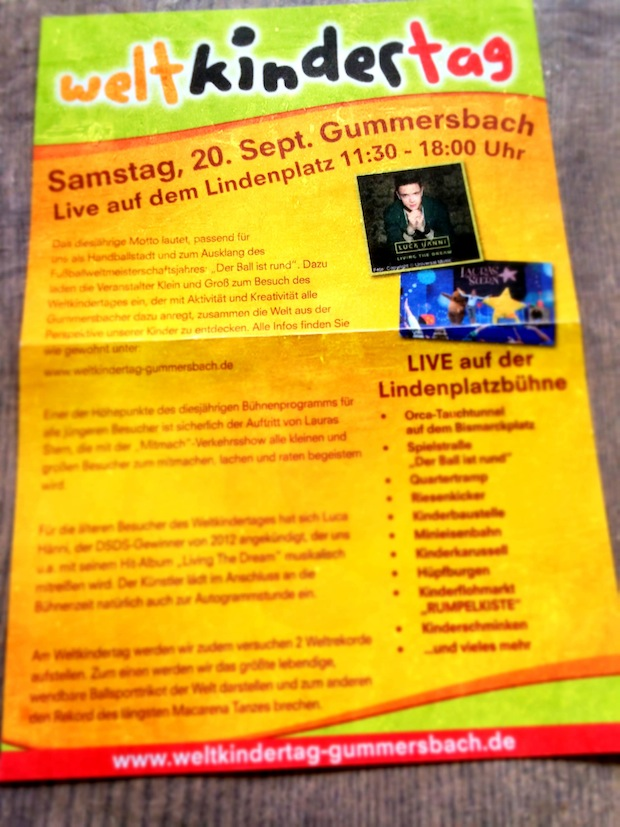 Photo of Weltkindertag in Gummersbach
