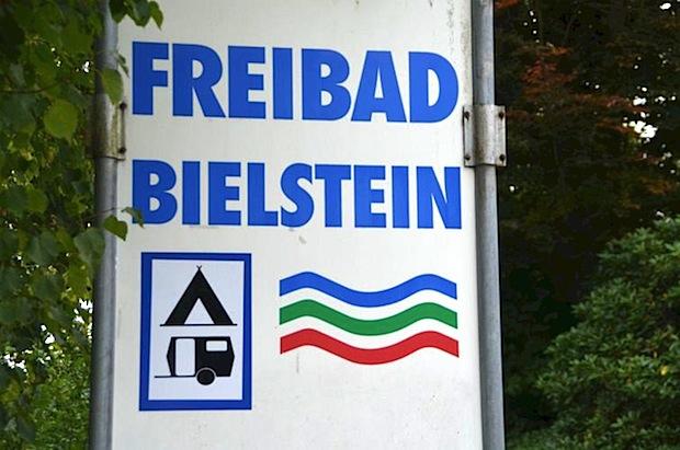 Photo of Nachsaison-Schwimmen im Freibad Bielstein
