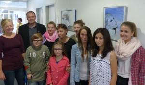Ausstellungseröffnung der Kinderkunstschule