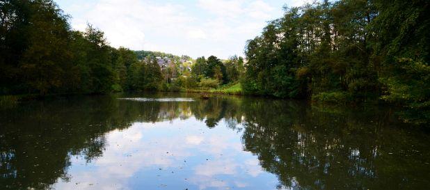 Dieser See speist den Hammer mit Wasser