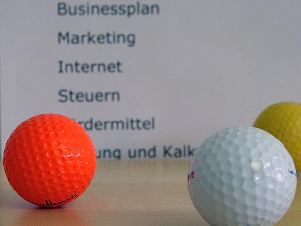 Photo of Bürogolfturnier für Gründer/innen