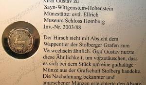 """Exklusivführung zur Sonderausstellung """"Fürsten und Falschmünzer"""""""