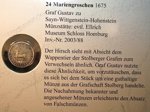 Um jede der gezeigten Münzen im detail zu erkennen, erhalten Besucherinnen und Besucher der Sonderausstellung jeweils kostenfrei eine Lupe. (Foto:OBK)