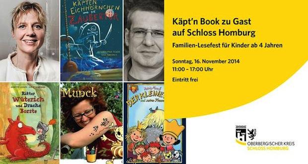 Photo of Käpt'n Book zu Gast auf Schloss Homburg