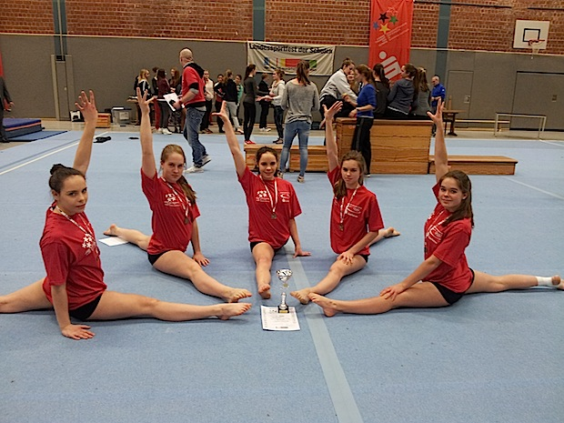Photo of HGN-Turnerinnen erzielen 3. Platz im NRW-Landesfinale