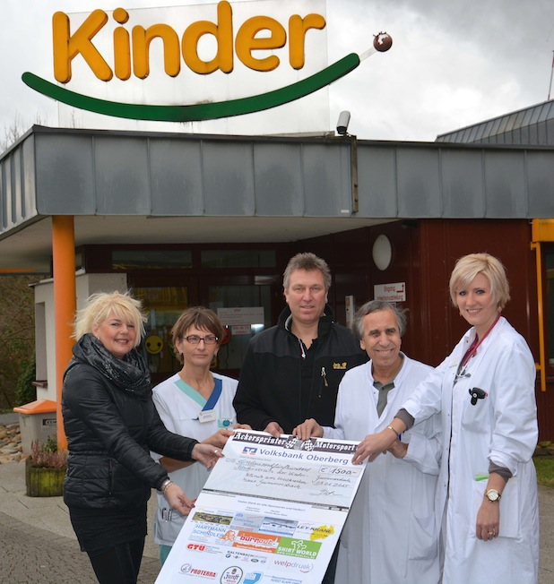 Photo of Ackersprinter spenden 1500 Euro für Kinderklinik