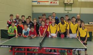 Gesamtschule Marienheide qualifiziert sich im Tischtennis für die Landesmeisterschaft