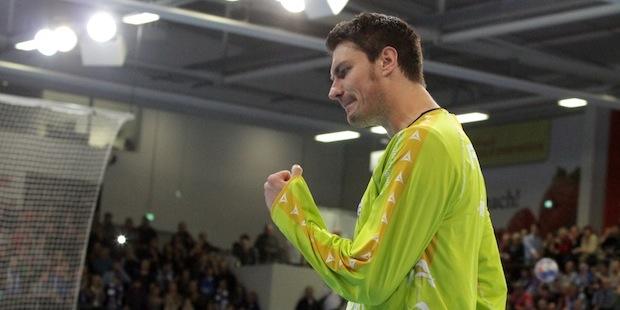 Photo of Handball-Nationalkeeper Carsten Lichtlein im Interview
