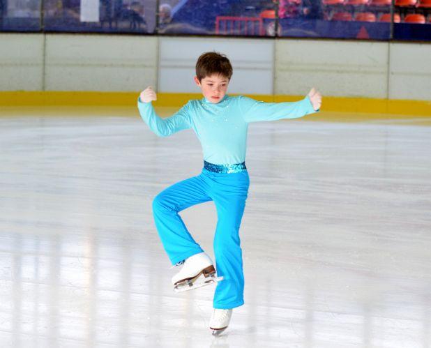 Drehen auf dem Eis