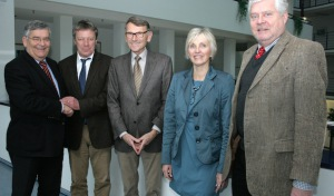 Landrat begrüßt neuen Schulaufsichtsbeamten für die oberbergischen Berufskollegs