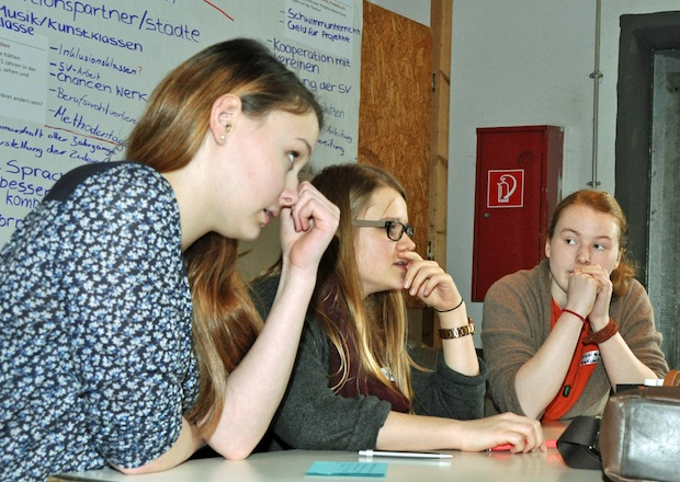 Photo of Jugendwerkstatt im Rahmen des LEADER-Wettbewerbs