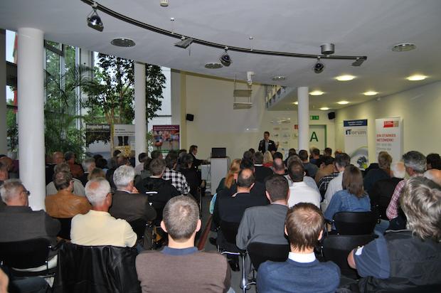"""Photo of Seminar """"Erfolgreich gegründet – und jetzt?"""" im GTC"""