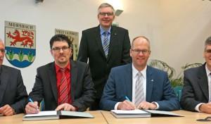 Gemeinde Morsbach und AggerEnergie festigen Partnerschaft