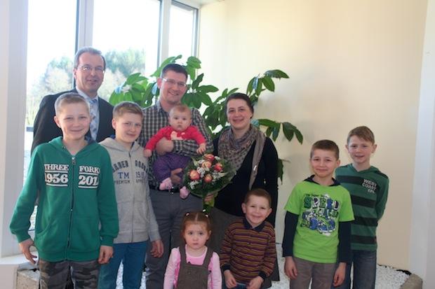 Photo of Jessica ist das 7. Kind der Familie Martens