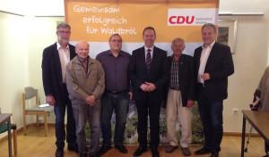 Jochen Hagt zu Gast bei der CDU Waldbröl
