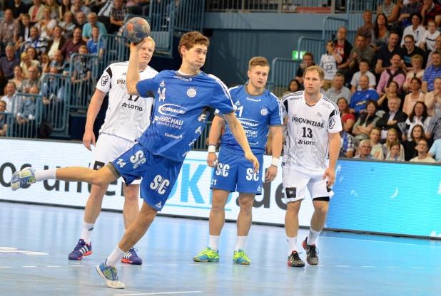 Maximilian Jaeger traf in seinem ersten Bundesligaspiel mit dem letzten Siebenmeter