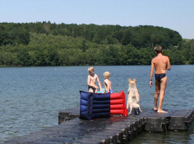 Ungetrübte Badefreuden (Foto: OBK)