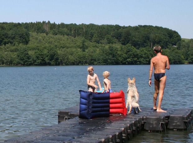 Bild von Online-Service des Kreises: Qualität der Badegewässer abrufbar