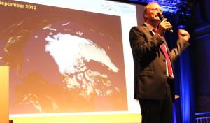 ARD Wetterfrosch Sven Plöger informierte über den Klimawandel