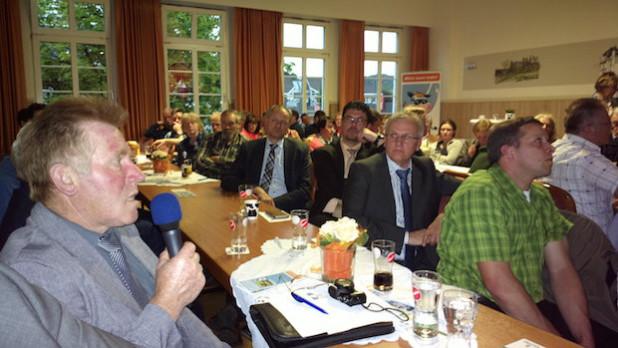 Im Publikum Helmut Dresbach von der Kreisbauernschaft Oberberg (Foto: LV Milch)