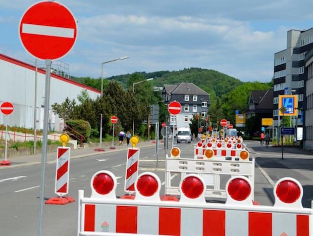 Bild von Hückeswagen: Straßenbauarbeiten von Wegerhof bis Kleinen scheidt