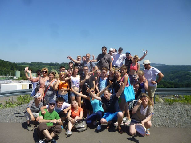 Photo of Internationale Jugendliche besuchen :metabolon