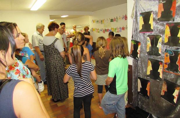 Photo of Kinderkunstausstellung im Jugendheim Drabenderhöhe