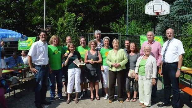Photo of Schulministerin Sylvia Löhrmann zu Besuch bei den Oberbergischen GRÜNEN