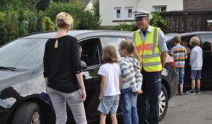 """""""Pass auf mich auf""""- Schulbeginnaktion der Polizei NRW"""