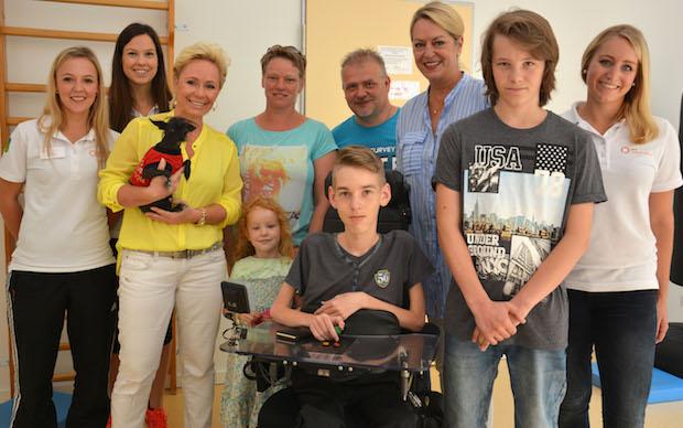 Photo of RPP-Physiotherapeuten unterstützen Nico