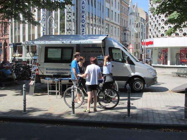 Photo of Kriminalprävention vor Ort