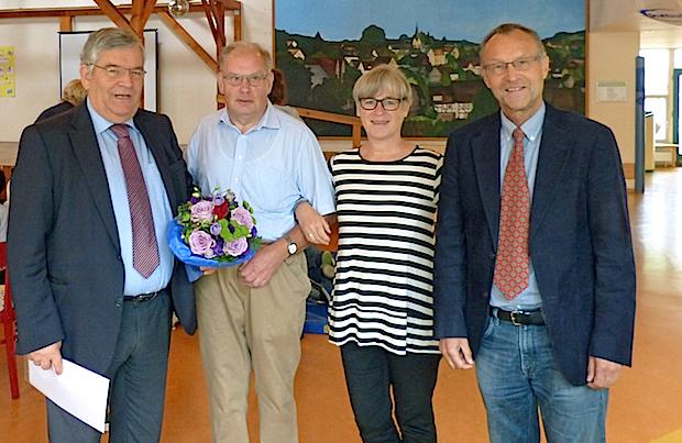 Photo of Hans-Peter Jonas feiert sein 40-jähriges Dienstjubiläum
