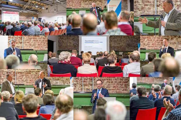 """Photo of Veranstaltungsreihe """"Fachkräfte konkret"""" in Halle 32"""