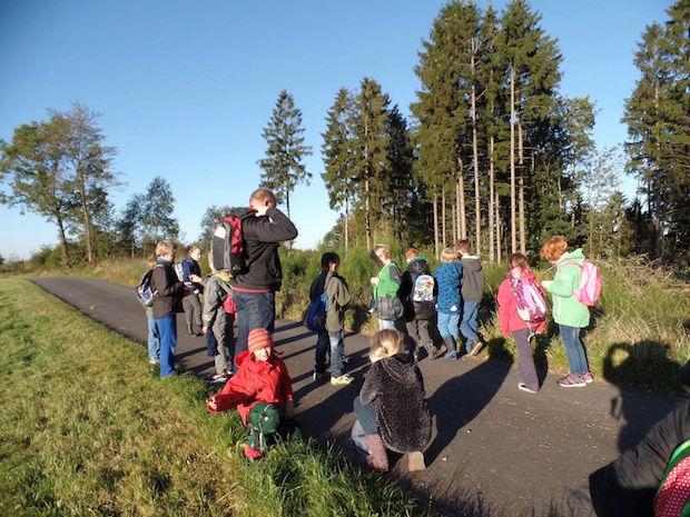 Photo of Wandertag der Gemeinschaftsgrundschule Eckenhagen