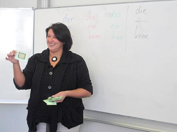 """Die Dozenten werden """"Deutsch als Frempsprache"""" unterrichten (Foto: OBK)."""