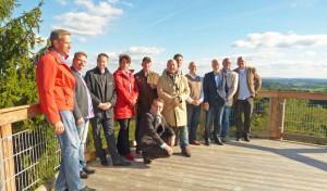 Oberbergische Wirtschaftsförderer trafen sich auf Panarbora