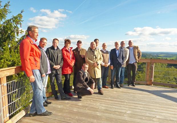 Photo of Oberbergische Wirtschaftsförderer trafen sich auf Panarbora