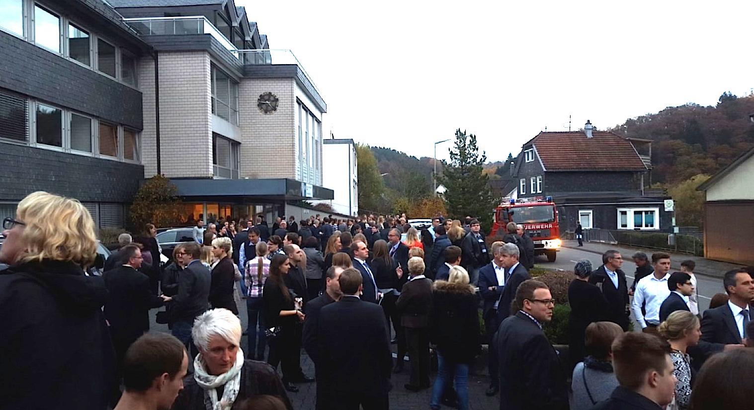 Photo of Gummersbach: Feueralarm während IHK Bestenehrung!