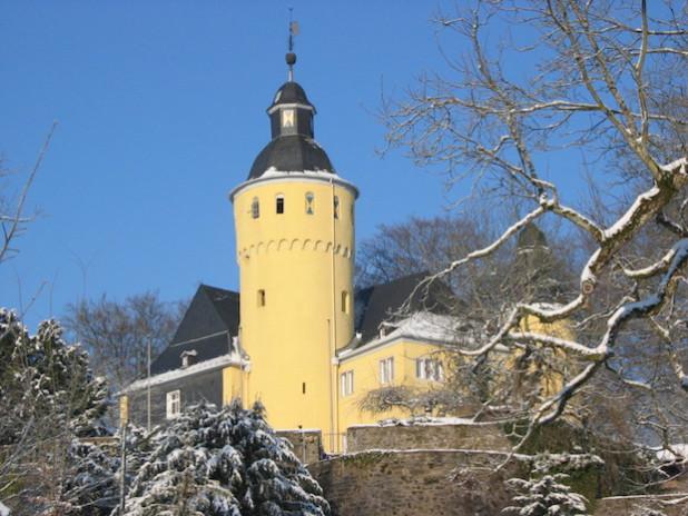 Schloss Homburg im Winter (Foto: OBK)