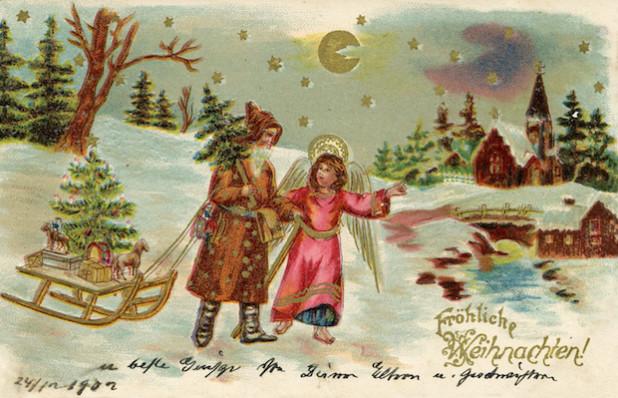 Nostalgische Weihnachtsbilder Kostenlos.Nostalgische Weihnachtskarten Kostenlos Italiaansinschoonhoven