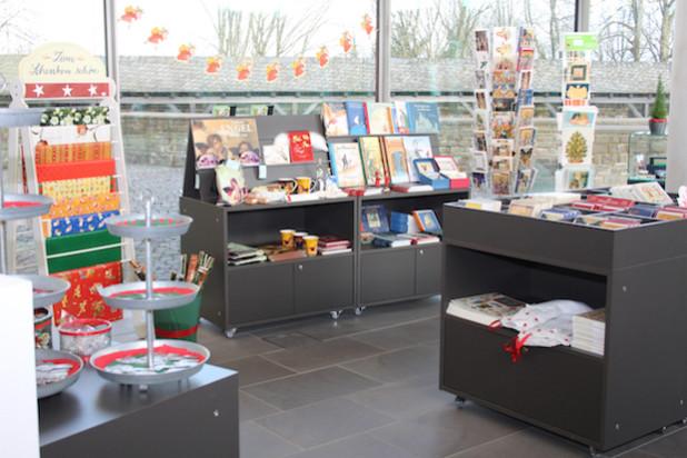 Der Weihnachtsladen befindet sich im Museumsshop (Foto: OBK).