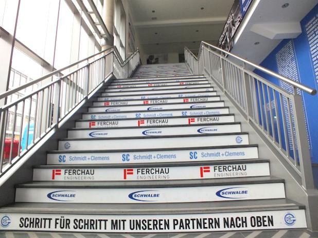 Der VfL Gummersbach will Schritt für Schritt mit seinen Partnern nach oben (Quelle: VfL Gummersbach).