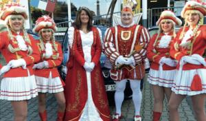 """Treffpunkt des Frohsinns"": Karneval im Bergischen Hof"