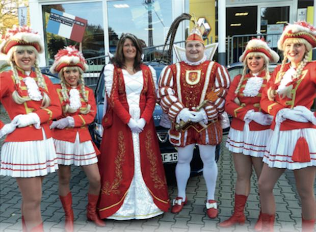 "Photo of ""Treffpunkt des Frohsinns"": Karneval im Bergischen Hof"